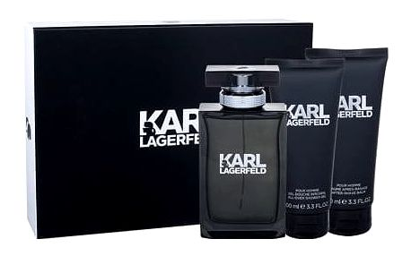 Karl Lagerfeld Karl Lagerfeld For Him EDT dárková sada M - EDT 100 ml + balzám po holení 100 ml + sprchový gel 100 ml