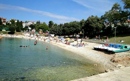 Chorvatsko - Istrie na 10 dní, bez stravy s dopravou autobusem 200 m od pláže