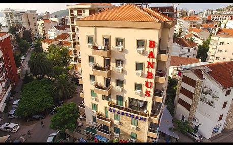 Černá hora - Budva na 8 až 10 dní, polopenze s dopravou autobusem, letecky z Prahy nebo vlastní
