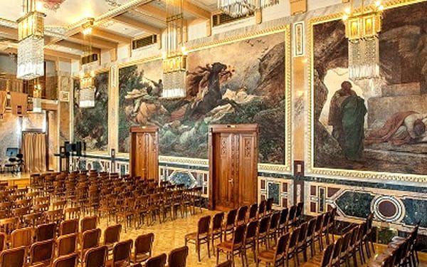 Vstupenka na exkluzivní koncert Mozarta & Vivaldiho v Obecním Domě 11. srpna 2018 v 18. hodin.