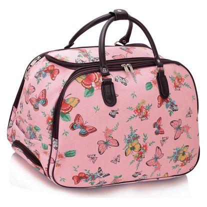 Dámská cestovní taška Shelley 309C růžová