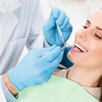 Ordinační bělení zubů s prohlídkou a konzultací