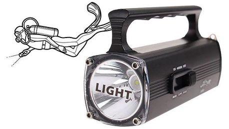 Potápěčská svítilna IPX8