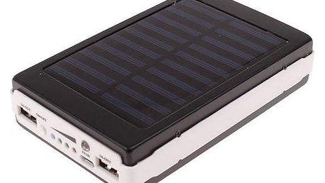 Solární powerbanka se svítilnou Lext 20000 mAh