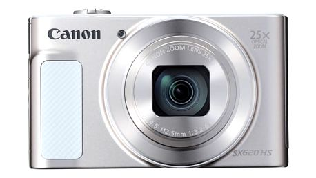 Digitální fotoaparát Canon PowerShot SX620 HS bílý + dárek (1074C002)