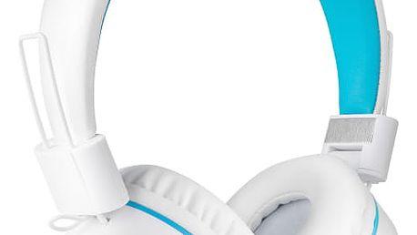 Sluchátka Niceboy HIVE (Hive-wh) bílá Powerbank GoGEN 2000mAh bílá/modrá v hodnotě 99 Kč