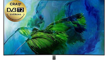 Televize Samsung QE55Q8 stříbrná