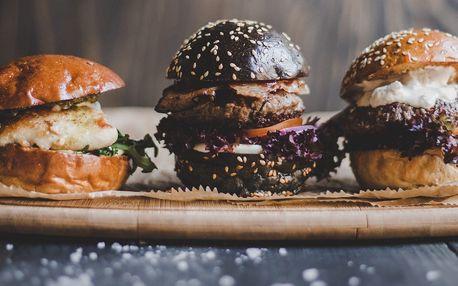 3x miniburger u přírodního parku Divoká Šárka