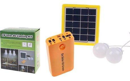 Solární LED světla s powerbankou