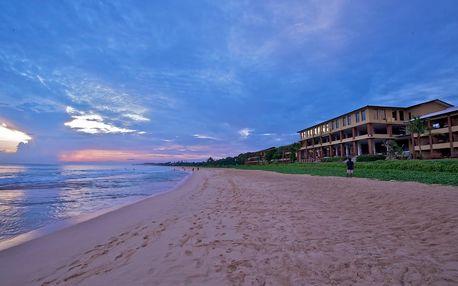 Srí Lanka - Koggala na 9 až 10 dní, polopenze, snídaně nebo bez stravy s dopravou letecky z Prahy přímo na pláži