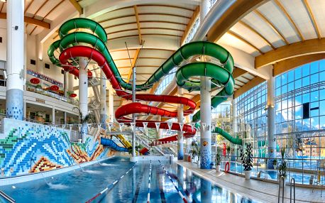 Léto ve špičkovém hotelu Aquarion**** s aquaparkem