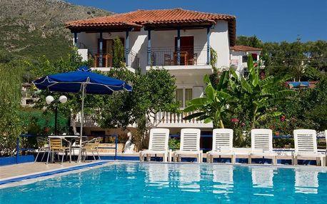 Řecko - Epirus na 10 až 12 dní, bez stravy s dopravou autobusem, letecky z Brna nebo Prahy 780 m od pláže