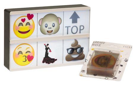 Světelný box s 26 znaky Fisura Emoticons