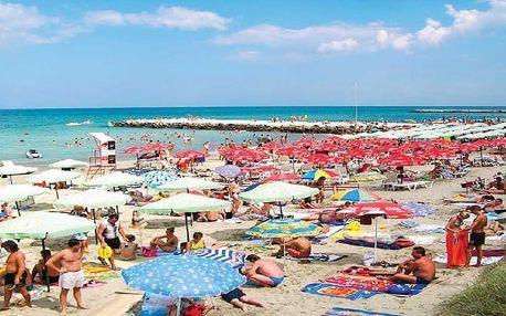 Bulharsko - Pomorie na 8 dní, bez stravy s dopravou letecky z Prahy 150 m od pláže