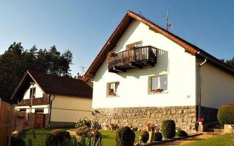 3 nebo 4denní pobyt pro 2–4 osoby v apartmánu Podhájí v jižních Čechách