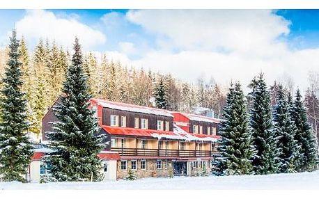 Jizerské hory u ski areálu + wellness