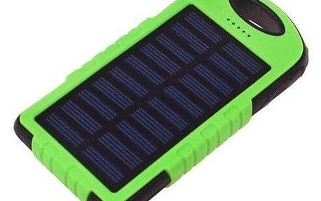 Solární nabíječka a svítilna - powerbanka