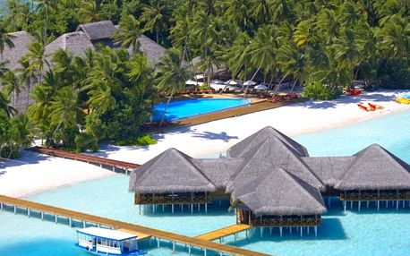 Maledivy - Jižní Atol Male na 10 dní, polopenze s dopravou letecky z Prahy přímo na pláži