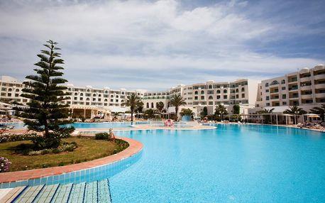 Tunisko - Yasmine Hammamet na 8 až 12 dní, polopenze nebo ultra all inclusive s dopravou letecky z Prahy 150 m od pláže