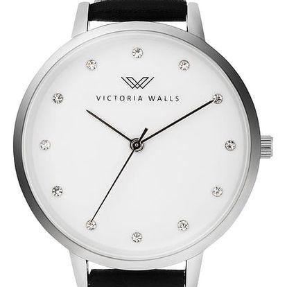 Dámské hodinky s koženým řemínkem Victoria Walls Dula