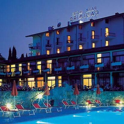 Itálie - Lago di Garda na 8 dní, plná penze nebo polopenze s dopravou vlastní 50 m od pláže