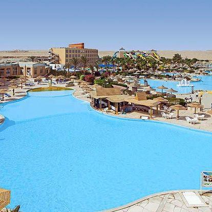 Egypt - Hurghada na 8 až 9 dní, all inclusive s dopravou letecky z Prahy nebo Brna 750 m od pláže