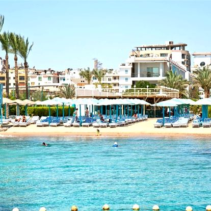 Egypt - Hurghada na 8 až 12 dní, all inclusive s dopravou letecky z Brna nebo Prahy přímo na pláži