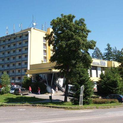 Slovensko - Vysoké Tatry na 3 až 5 dní, polopenze s dopravou vlastní