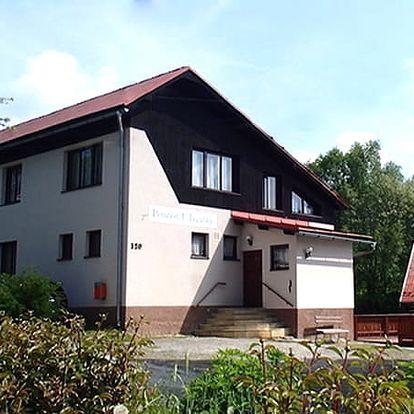Pobyt pro dva či rodinu v penzionu U Jagušky s polopenzí v Krkonoších.