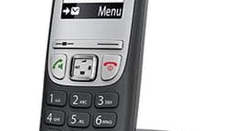Domácí telefon Siemens Gigaset A415 šedý (S30852-H2505-R601)