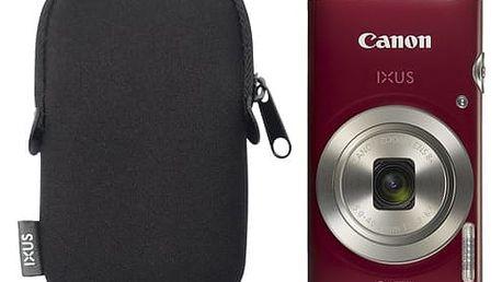 Digitální fotoaparát Canon IXUS 185 + orig.pouzdro červený (1809C010)