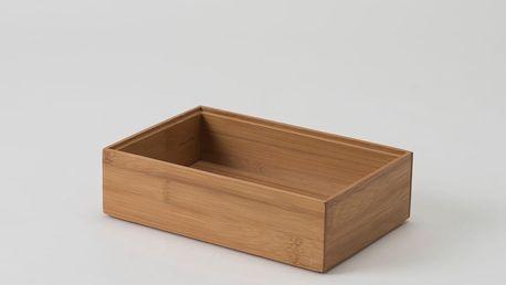 Bambusový box Compactor, 25,5x15x6,35cm