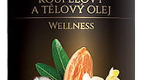 Koupelový a tělový olej kokos a vanilka v mandlovém oleji 200 ml, Topvet