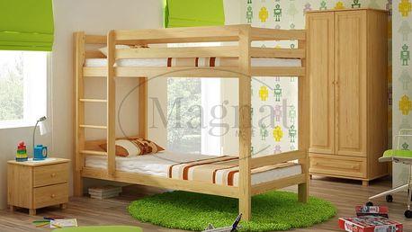 Patrová postel 90 x 200 cm