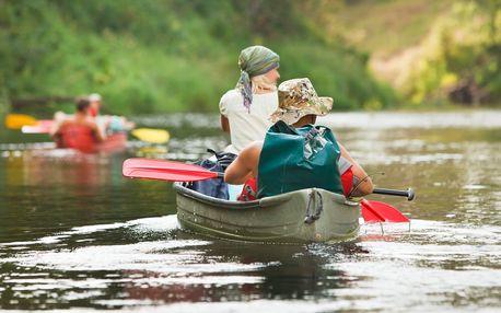 Zažijte 3denní plavbu kánoí na Vltavě