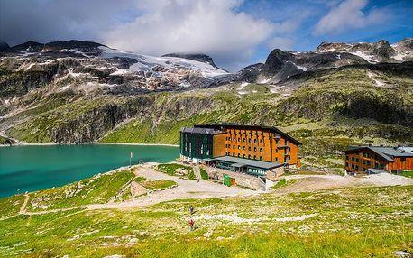 Horský hotel Rudolfshütte ve Weissee Gletscherwelt