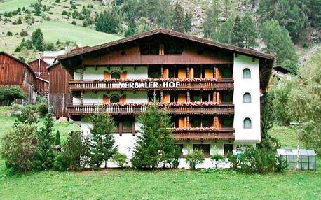 Rakousko - Ischgl / Kappl na 8 až 11 dní, bez stravy s dopravou vlastní