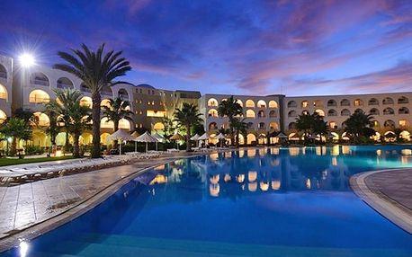 Tunisko - Djerba na 7 až 8 dní, all inclusive s dopravou letecky z Prahy nebo Brna 350 m od pláže
