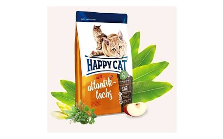 HAPPY CAT ADULT Atlantik-Lachs / Atlantický losos 4 kg