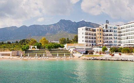 Kypr - Severní Kypr na 8 dní, polopenze nebo snídaně s dopravou letecky z Prahy přímo na pláži