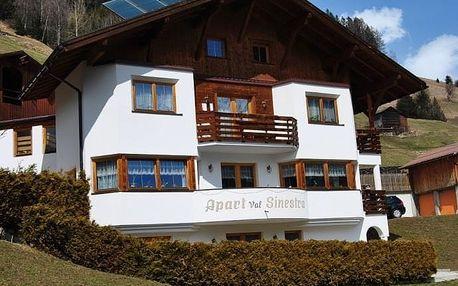 Rakousko - Ischgl / Kappl na 4 dny, bez stravy s dopravou vlastní
