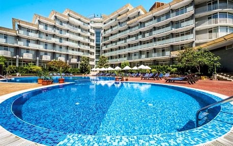 Bulharsko - Slunečné Pobřeží na 8 dní, all inclusive nebo polopenze s dopravou letecky z Prahy 300 m od pláže