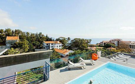 Madeira - Funchal na 8 dní, snídaně s dopravou letecky z Prahy 600 m od pláže