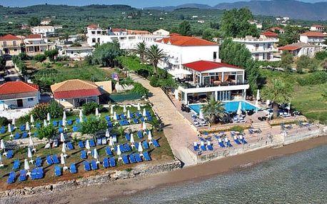 Řecko - Zakynthos na 8 dní, all inclusive s dopravou letecky z Prahy přímo na pláži