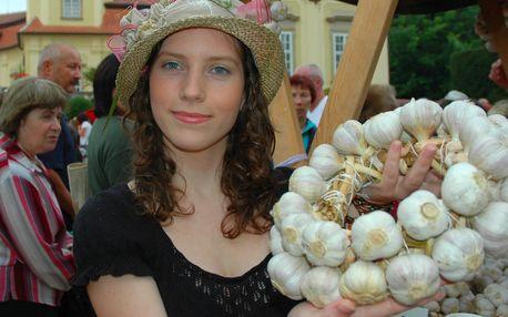 Vstupenka na buchlovické Slavnosti česneku