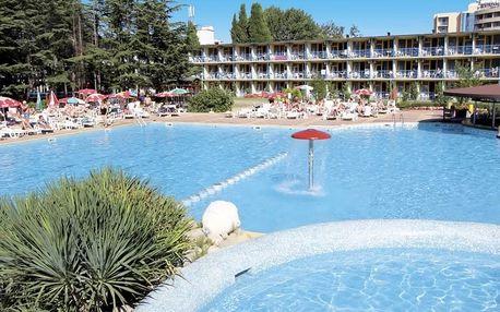 Bulharsko - Slunečné Pobřeží na 8 dní, plná penze, polopenze nebo snídaně s dopravou letecky z Prahy nebo Sliače 250 m od pláže