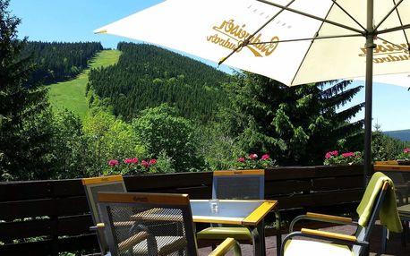 Léto v Parkhotelu Harrachov*** s dítětem zdarma a výhledem na Čertovu horu