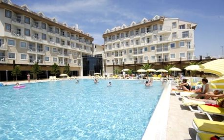 Turecko - Side na 8 až 15 dní, all inclusive s dopravou letecky z Prahy 250 m od pláže