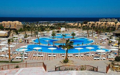 Egypt - Marsa Alam na 8 dní, all inclusive s dopravou letecky z Prahy 50 m od pláže