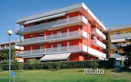 Itálie - Bibione na 8 dní, bez stravy s dopravou vlastní 50 m od pláže